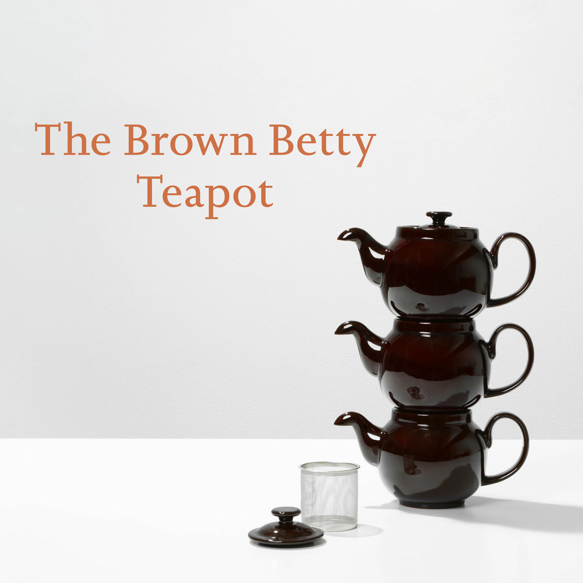 EXPOSITION BROWN BETTY TEAPOT