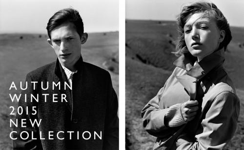 AUTUMN WINTER 2015  NEW COLLECTION