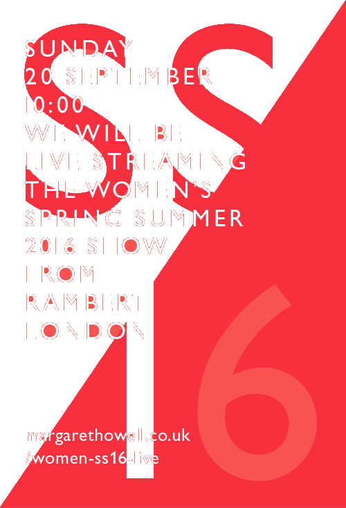 WOMEN'S SPRING SUMMER 2016 LIVE STREAMING