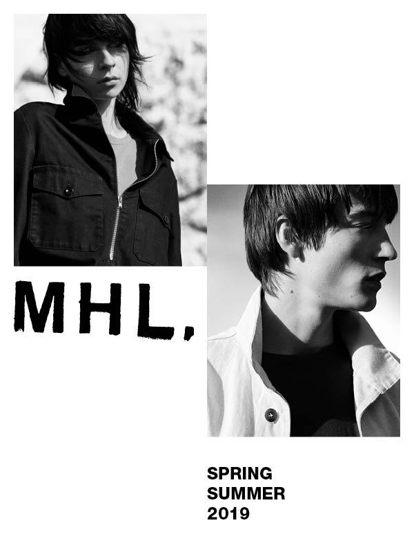 MHL. SPRING SUMMER 2019